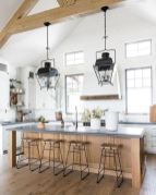 77 Best Farmhouse Kitchen Decor Ideas And Remodel (76)