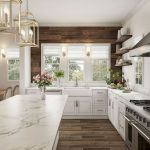 77 Best Farmhouse Kitchen Decor Ideas And Remodel (9)