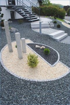 70 Magical Side Yard And Backyard Gravel Garden Design Ideas (33)