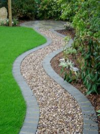70 Magical Side Yard And Backyard Gravel Garden Design Ideas (70)