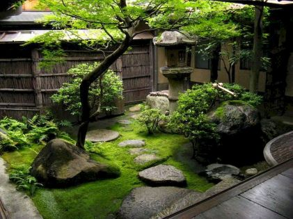 80 Wonderful Side Yard And Backyard Japanese Garden Design Ideas (13)