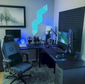 45 Fantastic Computer Gaming Room Decor Ideas and Design (17)