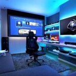 45 Fantastic Computer Gaming Room Decor Ideas and Design (29)