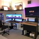 45 Fantastic Computer Gaming Room Decor Ideas and Design (43)