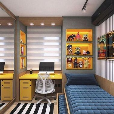 45 Fantastic Computer Gaming Room Decor Ideas and Design (44)