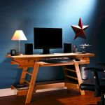 55 Fantastic DIY Computer Desk Design Ideas and Decor (3)