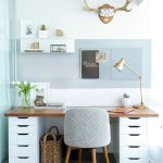 55 Fantastic DIY Computer Desk Design Ideas and Decor (9)