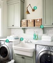 55 Gorgeous Laundry Room Design Ideas and Decorations (2)