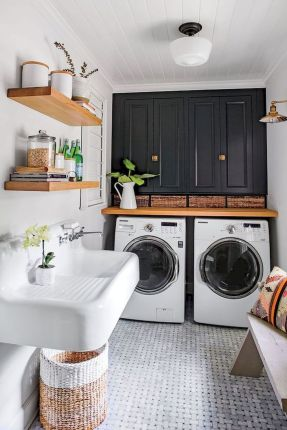 55 Gorgeous Laundry Room Design Ideas and Decorations (42)