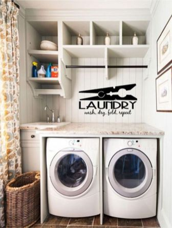 55 Gorgeous Laundry Room Design Ideas and Decorations (54)