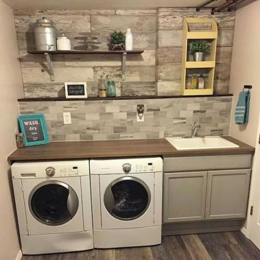 55 Gorgeous Laundry Room Design Ideas and Decorations (56)