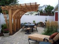 55 Wonderful Pergola Patio Design Ideas (19)