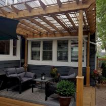 55 Wonderful Pergola Patio Design Ideas (20)