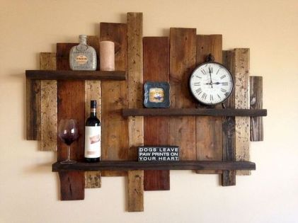 65 Wonderful DIY Rustic Home Decor Ideas (38)