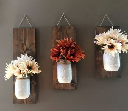 65 Wonderful DIY Rustic Home Decor Ideas (40)