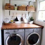 75 Awesome Laundry Room Storage Decor Ideas (28)