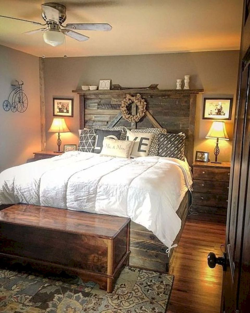 47 Most Popular Bedding for Farmhouse Bedroom Design Ideas and Decor (33)