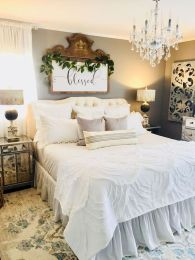 47 Most Popular Bedding for Farmhouse Bedroom Design Ideas and Decor (5)