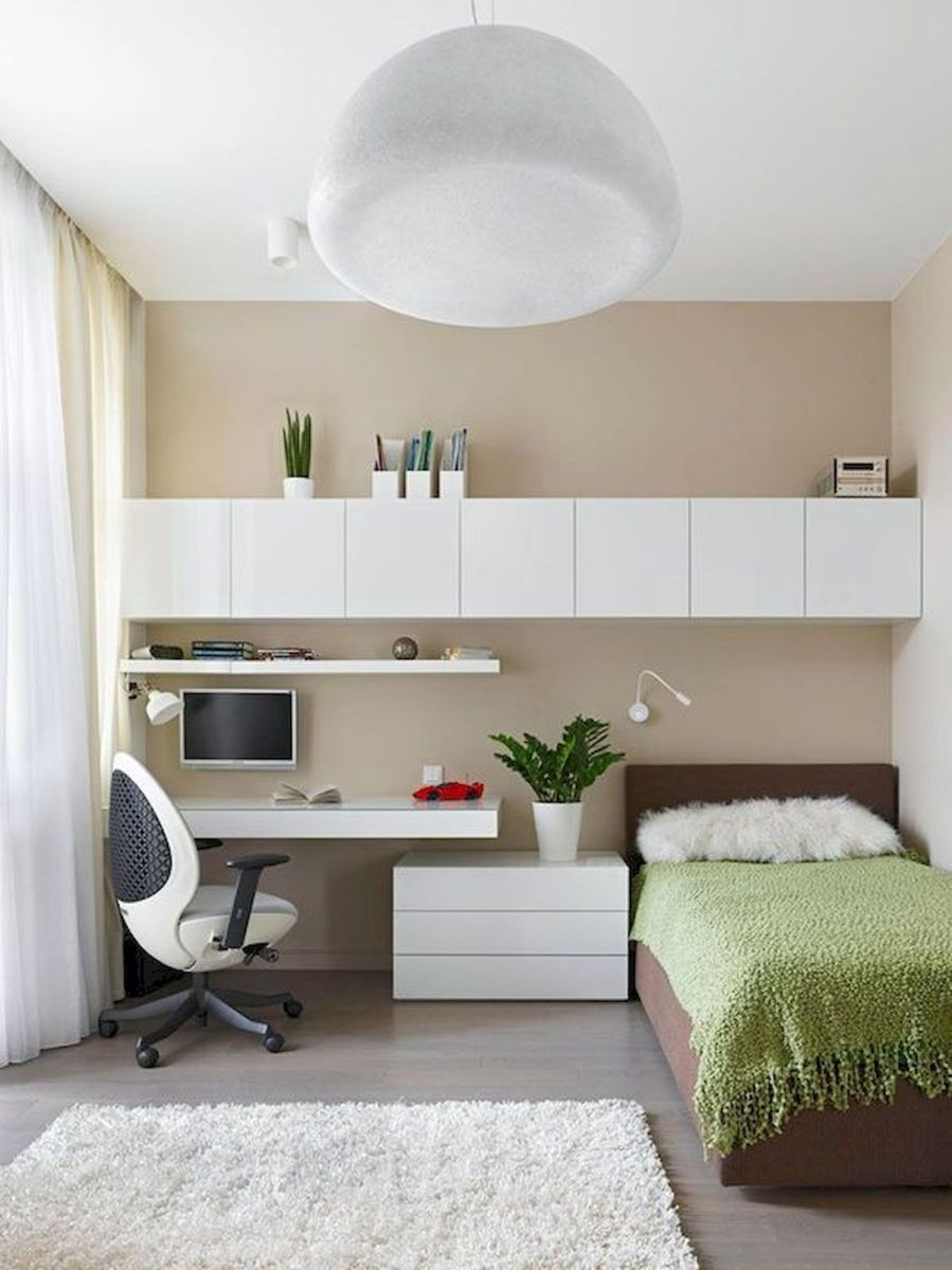 47 Wonderful Small Apartment Bedroom Design Ideas and Decor (2)