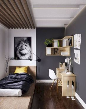 47 Wonderful Small Apartment Bedroom Design Ideas and Decor (47)