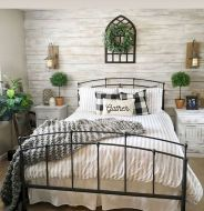 57 Stunning Modern Farmhouse Bedroom Design Ideas and Decor (101)