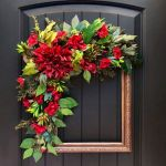62 Best Spring Wreaths Front Door Ideas (36)