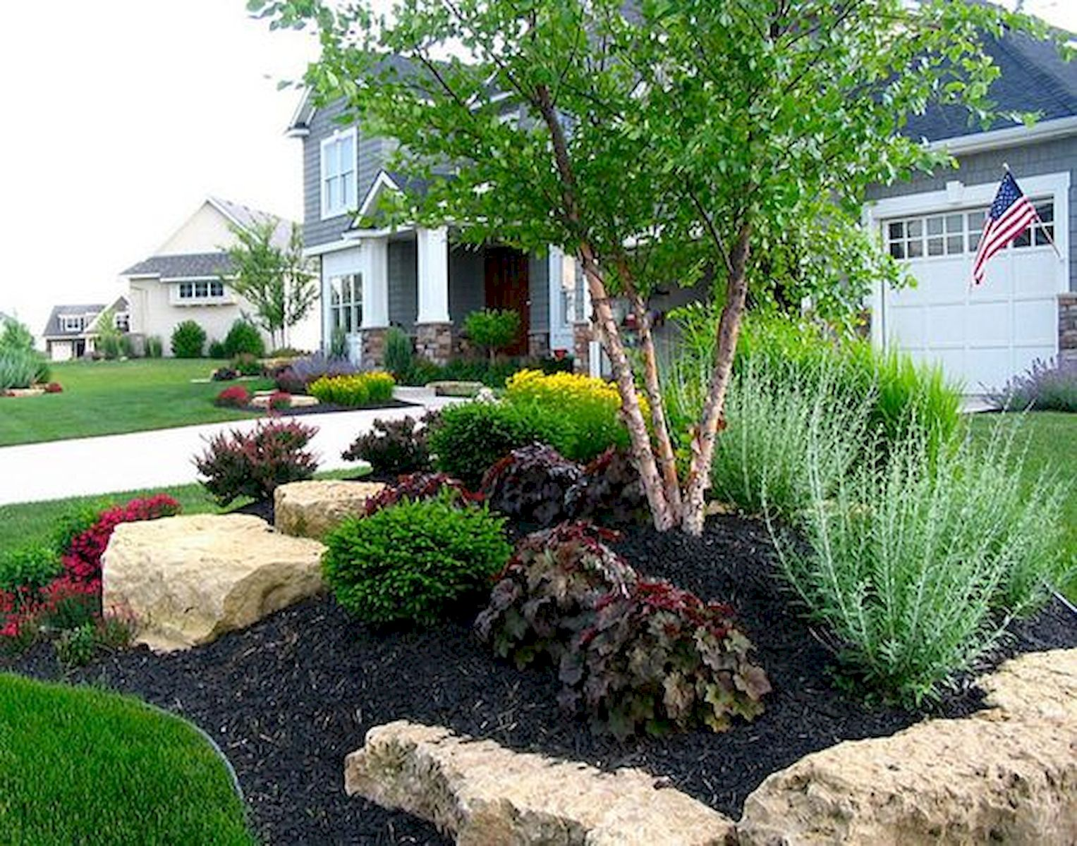 Genius Low Maintenance Rock Garden Design Ideas for ...