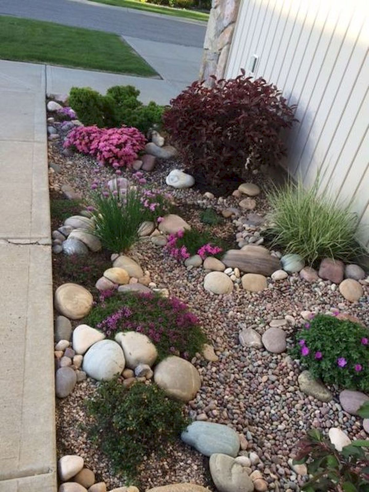 Genius Low Maintenance Rock Garden Design Ideas for ... on Low Maintenance:cyizg0Gje0G= Backyard Design  id=78015