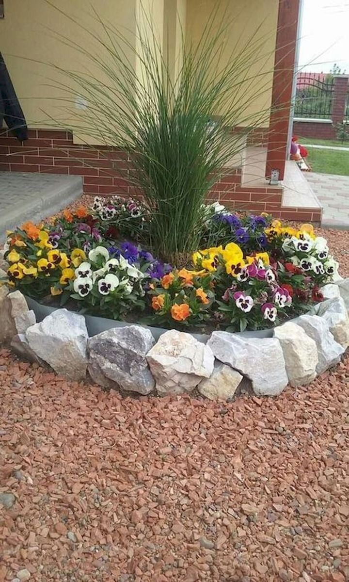 Genius Low Maintenance Rock Garden Design Ideas for Frontyard and Backyard (66)