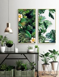 Indoor Garden Office and Office Plants Design Ideas For Summer (17)
