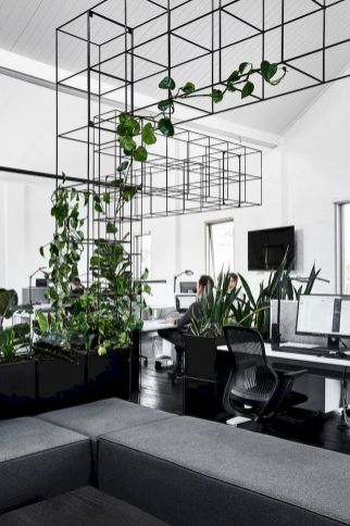 Indoor Garden Office and Office Plants Design Ideas For Summer (42)