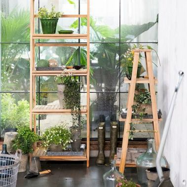 Ladder In The Garden Design Ideas and Remodel (39)
