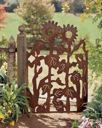 Metal Garden Art Design Ideas For Summer (43)