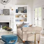 105 Best Farmhouse Living Room Decor Ideas (37)