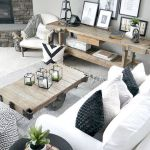 105 Best Farmhouse Living Room Decor Ideas (43)