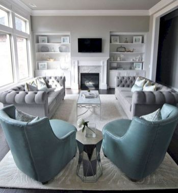 53 Excellent Formal Living Room Decor Ideas (52)