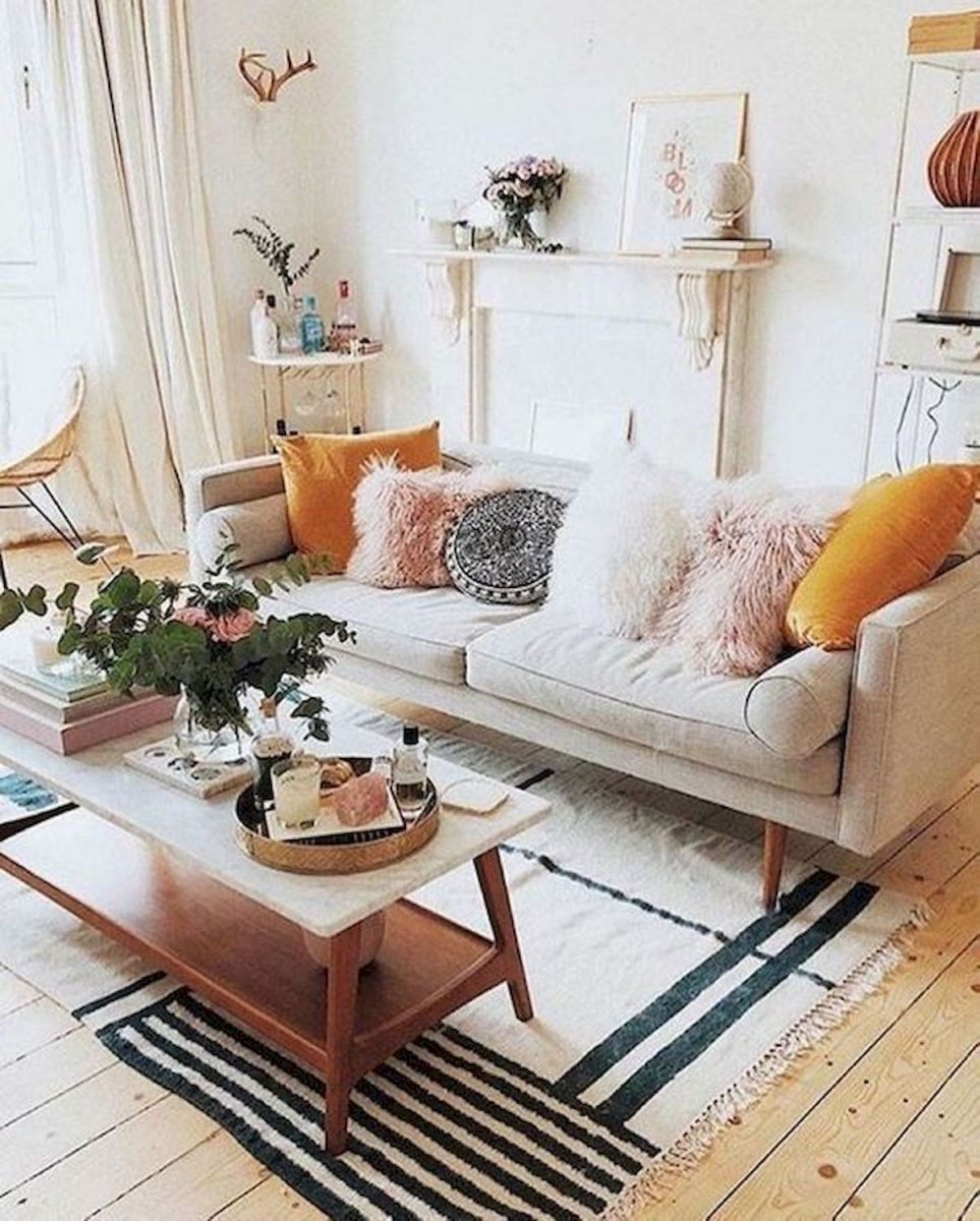 57 Cozy Living Room Apartment Decor Ideas (10)