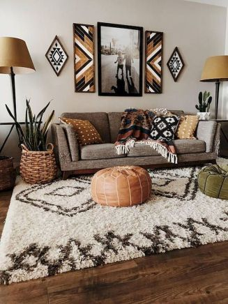 57 Cozy Living Room Apartment Decor Ideas (26)
