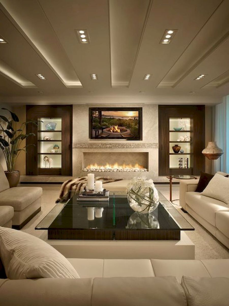 69 Contemporary Living Room Decor Ideas (61)