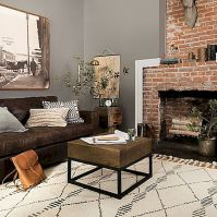 72 Industrial Living Room Decor Ideas (1)
