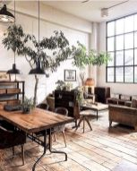 72 Industrial Living Room Decor Ideas (10)