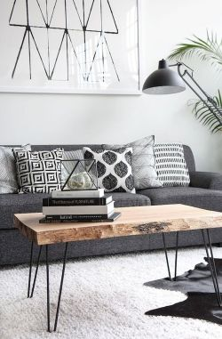72 Industrial Living Room Decor Ideas (45)