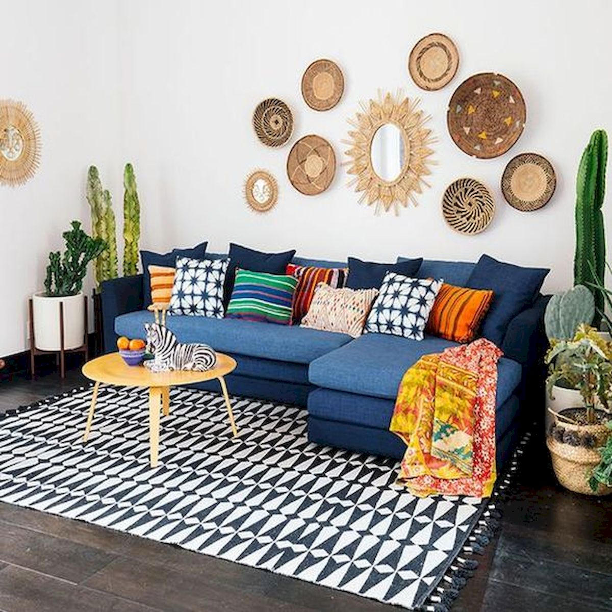 73 Eclectic Living Room Decor Ideas (15)
