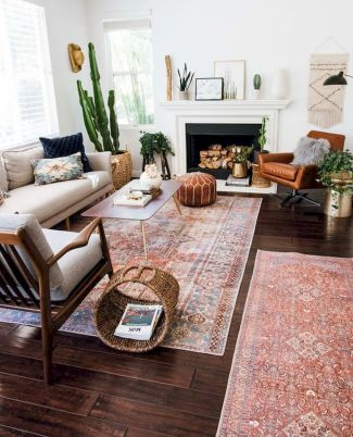 73 Eclectic Living Room Decor Ideas (27)