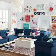 73 Eclectic Living Room Decor Ideas (45)