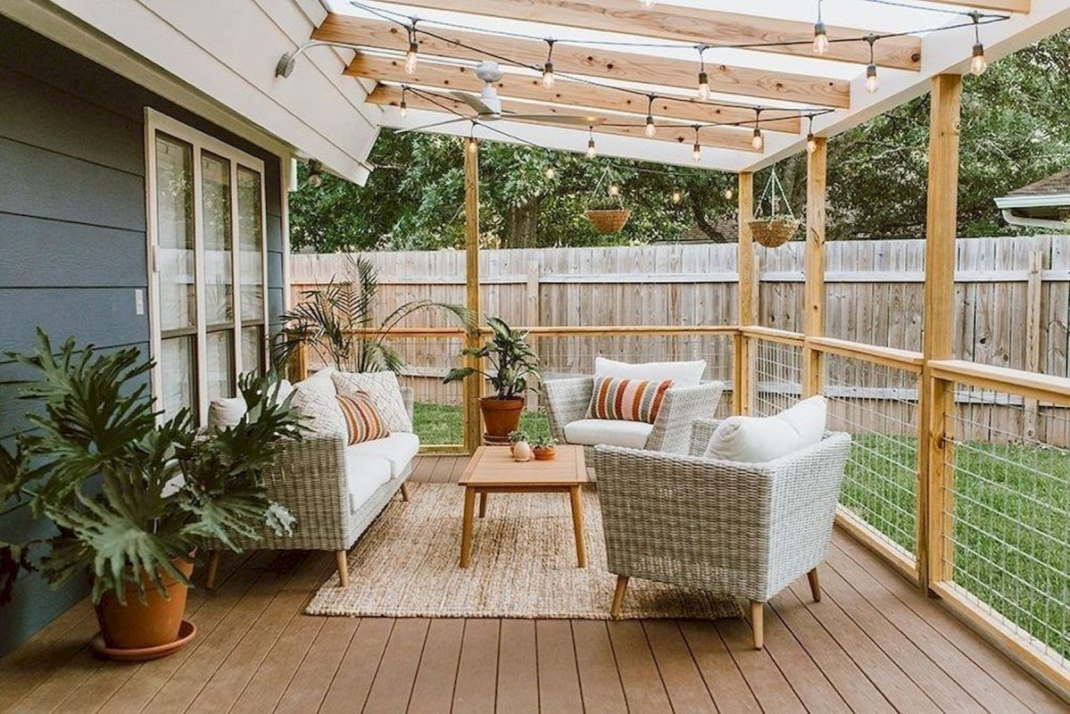 30 Best Small Backyard Patio Ideas (22)