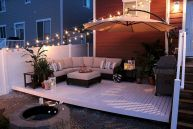 30 Best Small Backyard Patio Ideas (27)