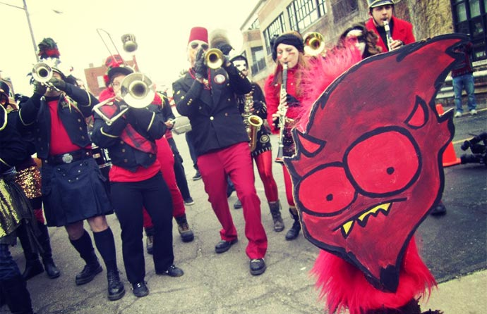 Marche du Nain Rouge of Detroit
