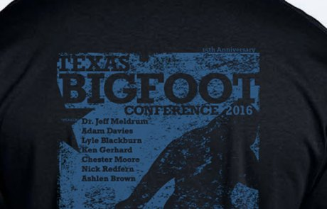 Texas Bigfoot Conference T-Shirt