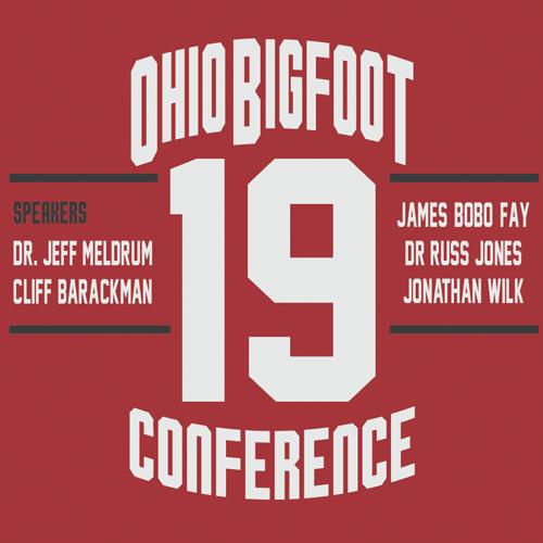 2019 Ohio Bigfoot Conference T-Shirt